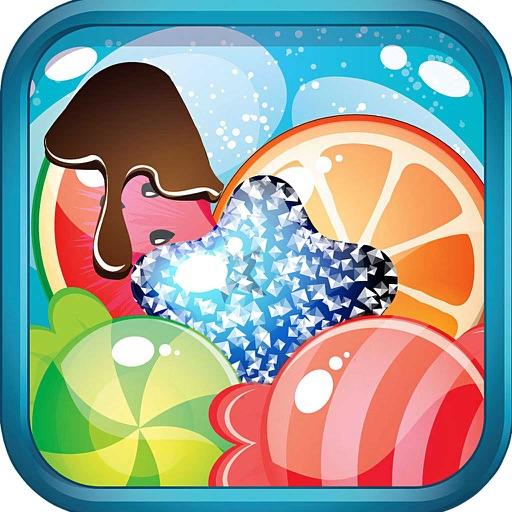 Choco Fruits Sugar Mania: Delicious Match 3 Game