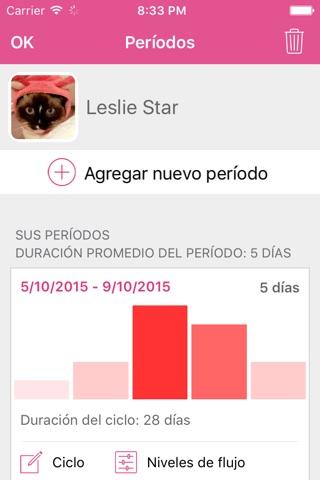 Lady Biz - Period Tracker and Fertility Calendar screenshot 4