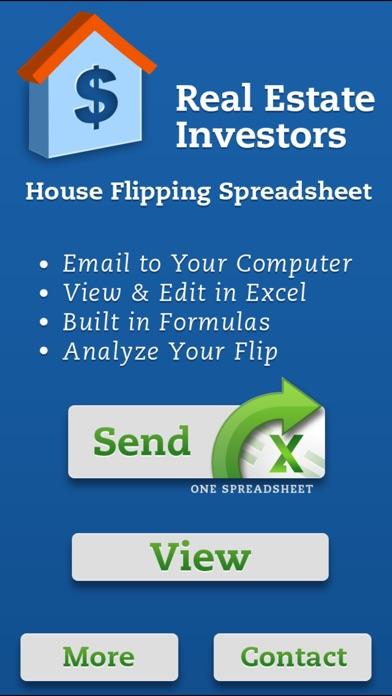 House flipping spreadsheet real estate investors app for Buy house app