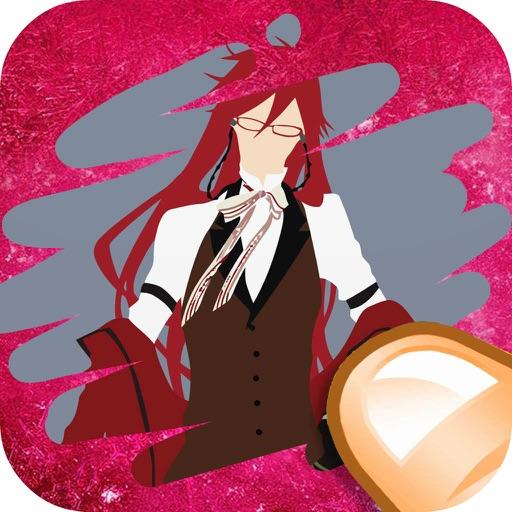 Black Butler Edition Scratch it : Cartoon Manga Trivia Game Free iOS App