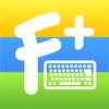 Цветные шрифты для Клавиатуры+ ∞ Классная экранная клавиатура: темы, шрифты, эмодзи, символы,наклейки и анимированные стикеры для iPhone