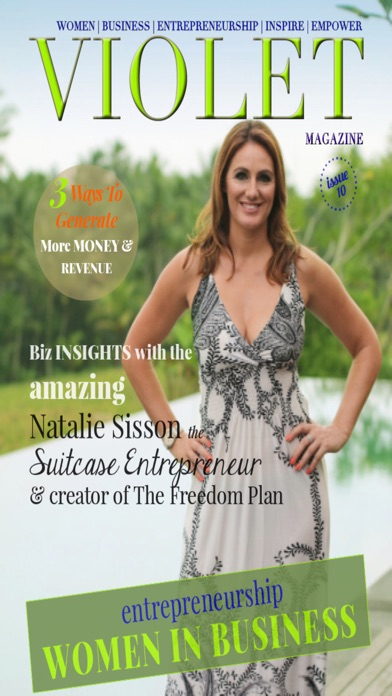 Violet Magazine For Female Entrepreneurs And Women In Business review screenshots