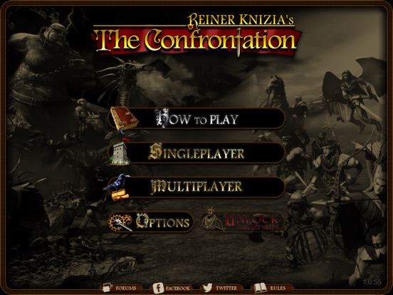 Reiner Knizia's Confrontation Screenshot