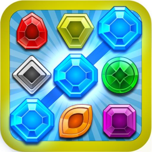 Gems Link Match 3 iOS App