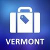 Vermont, USA Detailed Offline Map vermont map