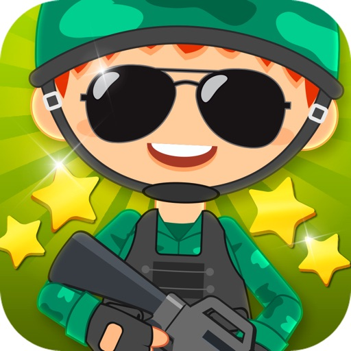 Little Soldier Dress Up Game iOS App