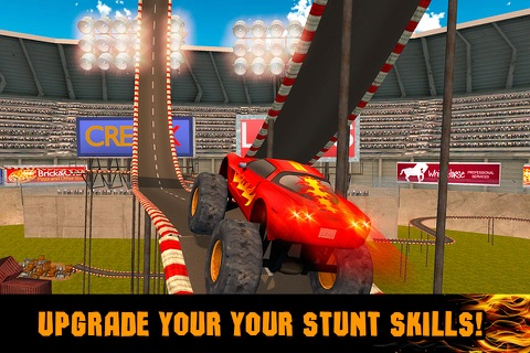 Extreme Monster Truck Stunt Racing 3D Full screenshot 4