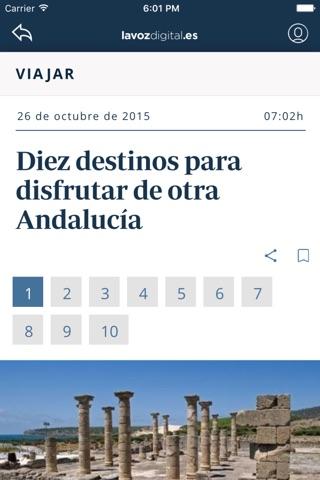 La Voz Digital de Cádiz screenshot 1