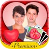 Valentine love frames Photo editor to put your Valentine love photos in romantic love frames - Premium love