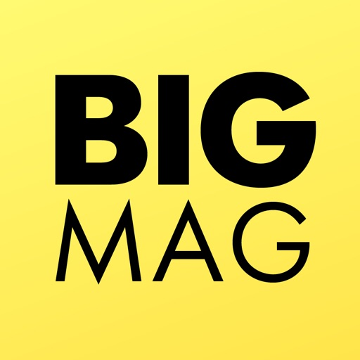 BigMag - all magazines in one place iOS App