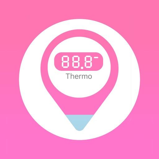 体温計Watch+(ThermoWatch+) for Apple Watch 測定した体温データをヘルスケアアプリに登録 基礎体温対応