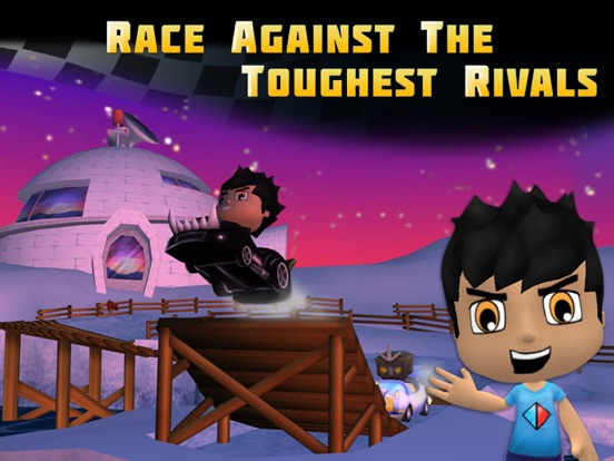 Screenshot #1 for Tube Heroes Racers
