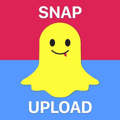 Snap Upload Free for Snapchat - Upload Photos, Videos from Your Camera Roll Icon