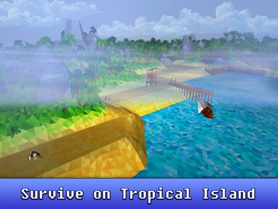Craft Tropical Island Survival 3D Full Screenshots