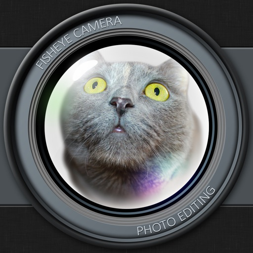 Fisheye Camera Photo Edit.ing with Live Crystal Ball Lens & Color Filter Effect.s iOS App