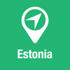 BigGuide Estonia Map + Ultimate Tourist Guide and Offline Voice Navigator