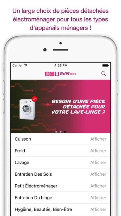 BVM : Pièces électroménagerCapture d'écran de 1
