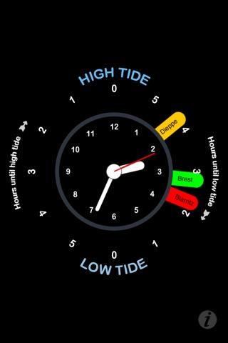 Tide Clock screenshot 2