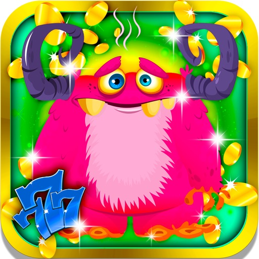 Funny Monster Slots: Better chances to win if you play with cute imaginary creatures iOS App