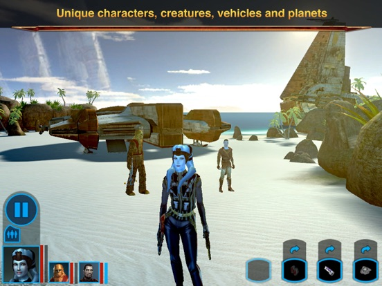 Screenshot #2 for Star Wars®: Knights of the Old Republic™