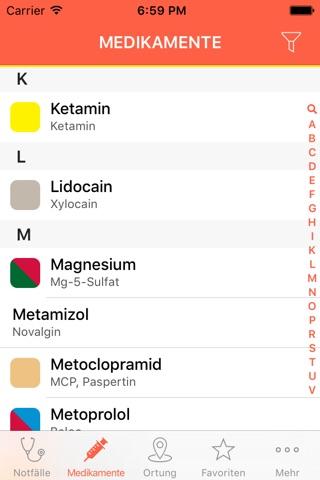 Rettungsdienst App screenshot 2