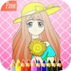 Games Princess coloring pages : Art Pad Easy painting for little kids art games for kids