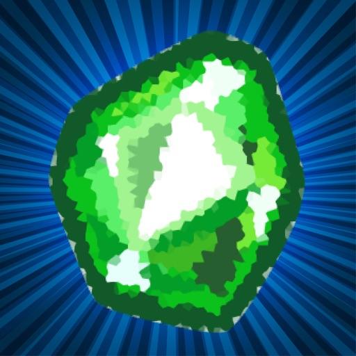 Craft Clicker Miner - Emerald iOS App