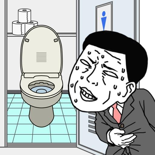 洗手间平面图卡通