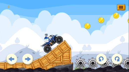 ATV Hill Racing: Extreme Quad Bike Climb - 4x4 Rally Game Screenshot