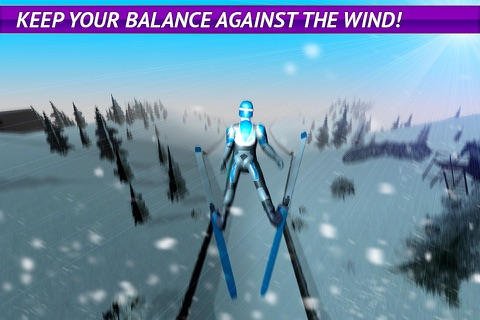 Ski Jumping Freestyle 3D screenshot 2