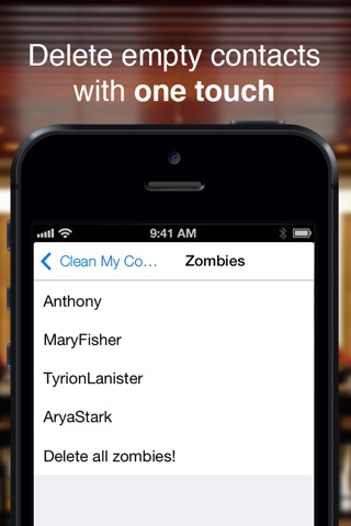 Clean My Contacts PRO screenshot 4