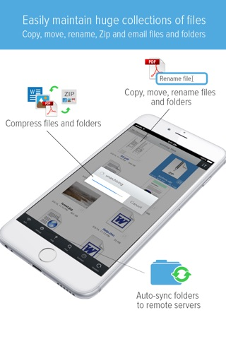 GoodReader - PDF Reader, Annotator and File Manager screenshot 4