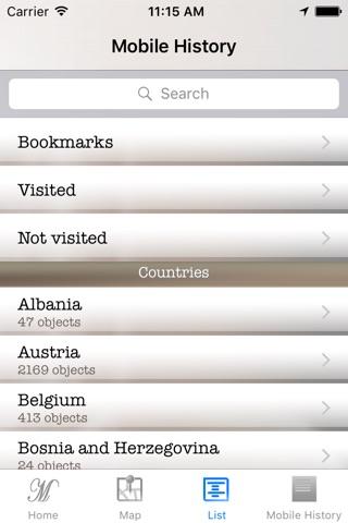 Mobile Geschichte - Burgen und Schlösser screenshot 4