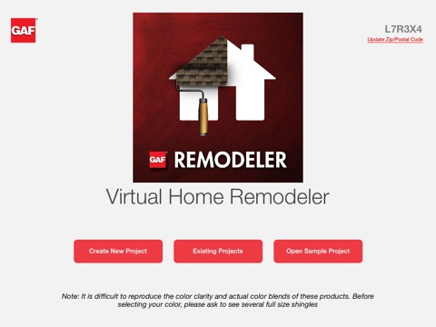 GAF Remodeler On The App Store - Virtual home remodeler