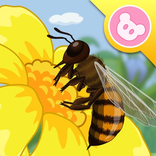 Bee - InsectWorld A story book about insects for children iOS App