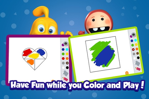 Kidfinity Pots & Paints: Drawing, Coloring & Painting Book for Kids in Preschool & Kindergarten screenshot 4