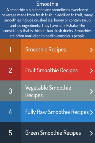 Smoothie Recipes - Ultimate Video Guide screenshot 1