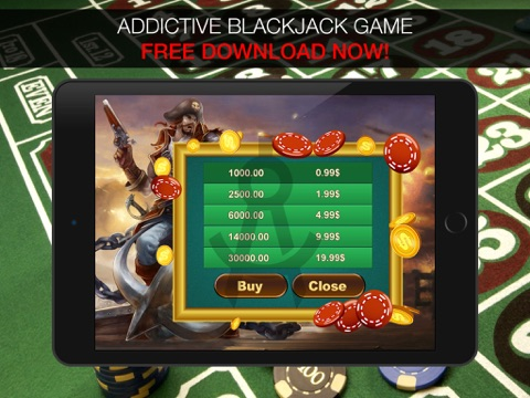 Aarghh! PIRATE BlackJack KING - Play the Atlantic City and Online Casino Card Game with Real Las Vegas Odds for Free !-ipad-3