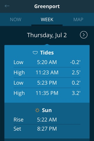 Tides Near Me - Free screenshot 3