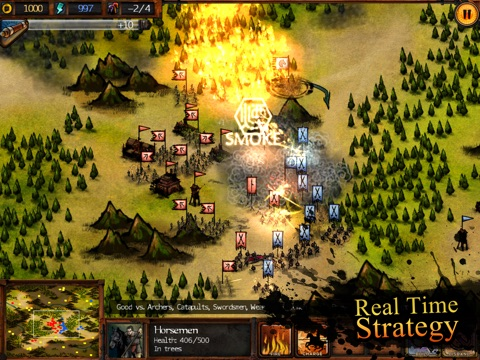Autumn Dynasty - RTS на iPad