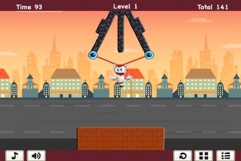 Hero Challenge - Swinging Robot Mania screenshot 2