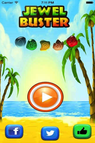 Jewel Buster Match Fun- Clash Pop and Dash the Jewels with Friends - A Top Free Game! screenshot 1