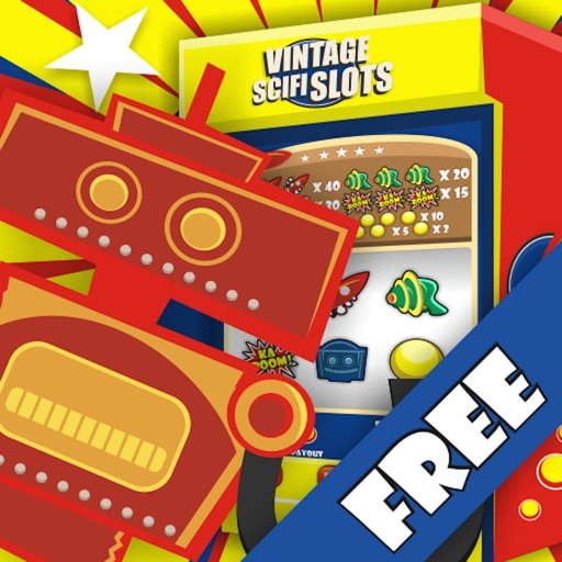 Vintage Scifi Slots Free iOS App