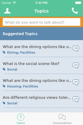 StudentVox screenshot 4