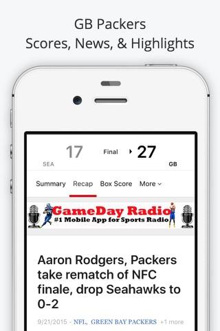 Green Bay GameDay Live Radio – Packers & Bucks Edition screenshot 4