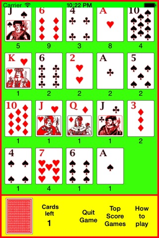 Pilot Solitaire screenshot 4