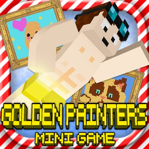 GOLDEN PIXEL PAINTERS: MC Gold Block Master Builder Mini Game
