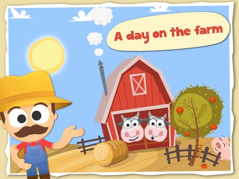Fun with Farm Animals Cartoon-ipad-0