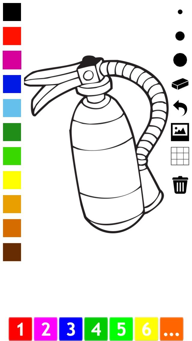 Actif! Livre À Colorier des Animaux Pour Les Enfants D'apprendre À Peindre des TableauxCapture d'écran de 5