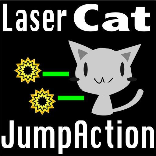 Laser Cat's Jump Action HD iOS App